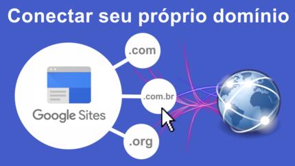Como adicionar domínio próprio no novo Google Sites