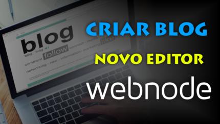 Como criar um blog com posts modernos no Webnode