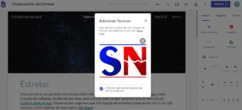 Favicon Google Sites