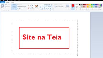 Como redimensionar, cortar e salvar imagens com qualidade no Paint do Windows
