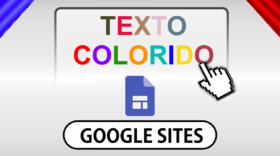 Como adicionar textos 'coloridos' no Google Sites