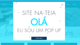 Como adicionar um pop up no Wix