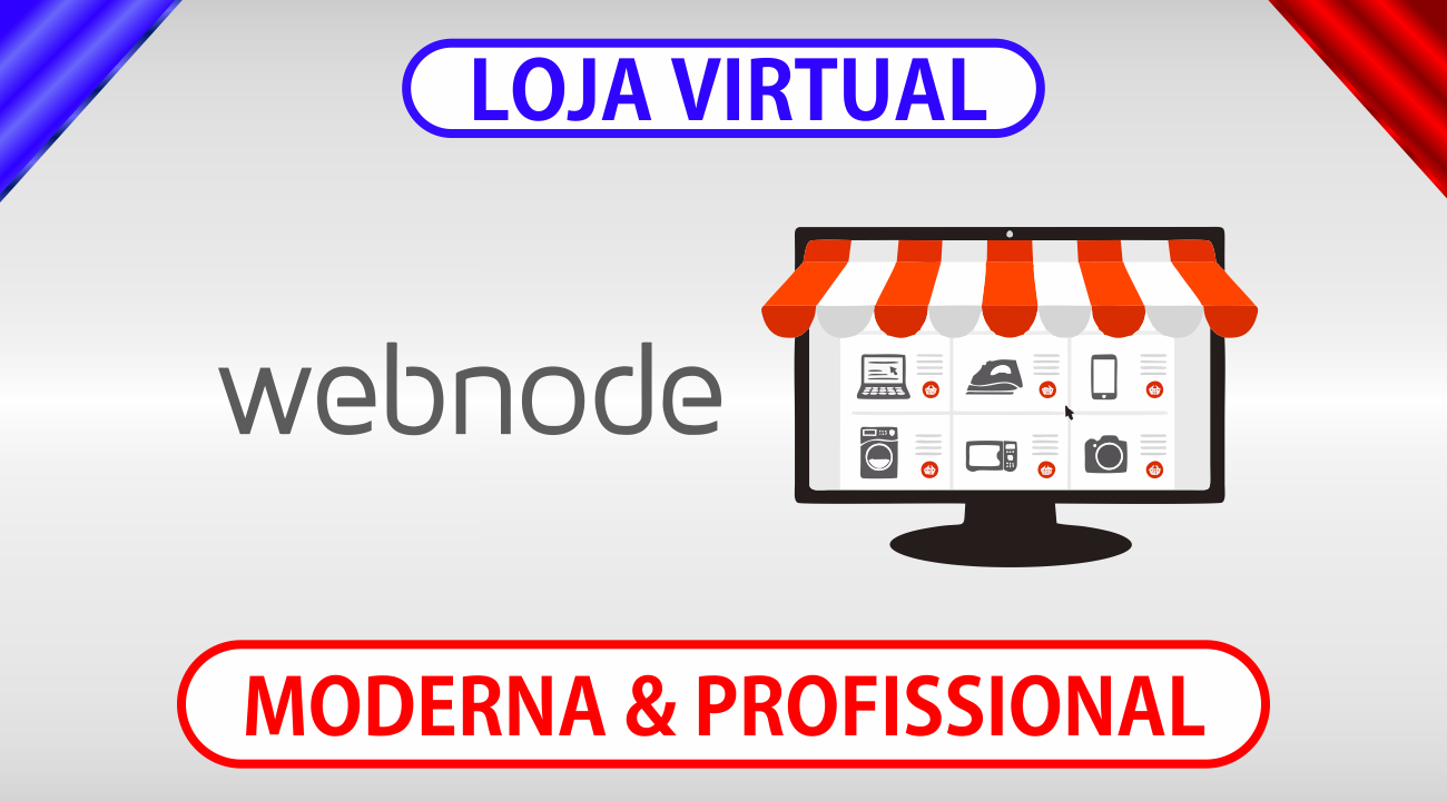 Como criar loja online na Webnode