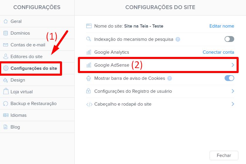 Webnode e Google Ads