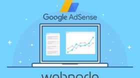 Como conectar o Google AdSense ao seu site Webnode