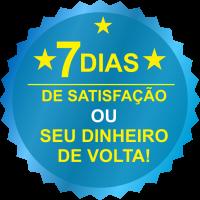 SELO DE SATISFAÇÃO - 7 Dias