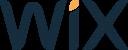 Wix logo colorido
